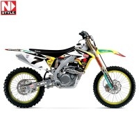 Yoshimura Suzuki Team Motocross Team Graphics Kit
