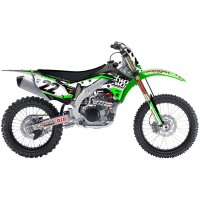 Kawasaki Chad Reed Two Two Motorsport KXF Motocross Graphics Kit