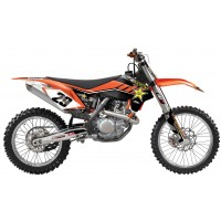 KTM Rockstar Factory Team Motocross Complete Graphics Kit