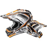 Arai VXPro 4 Speedy Orange Motocross Helmet MXV