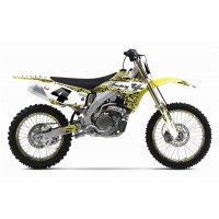 Factory Effex Signature Suzuki RMZ450 2007 Motocross Full Graphics Kit