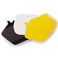 Precut Background Numberboard Stickers for Motocross Bikes