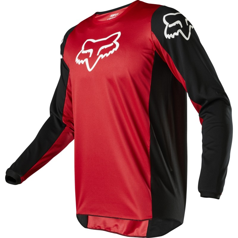 2020 Fox 180 Youth Kids Motocross Jersey PRIX FLAME RED