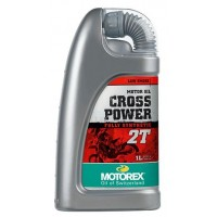 Motorex Crosspower 2T 2 Stroke Fully Synthetic Motocross Bike Engine Oil
