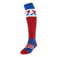 Fox FRI Thick Motocross Socks AFTERBURN BLUE
