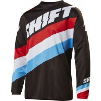Shift WHIT3 Label Tarmac Kids Youth Motocross Jersey Black
