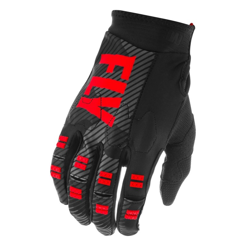 2020 Fly Racing Evolution Motocross Gloves Red Black