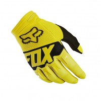 Fox Dirtpaw Kids Youth Motocross Gloves YELLOW