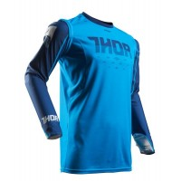 Thor Prime Fit ROHL Motocross Jersey Blue Navy