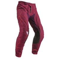 2019 Thor MX Prime Pro Infection Motocross Pants Maroon Red Orange