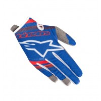 2019 Alpinestars RADAR Motocross Gloves Blue Red White