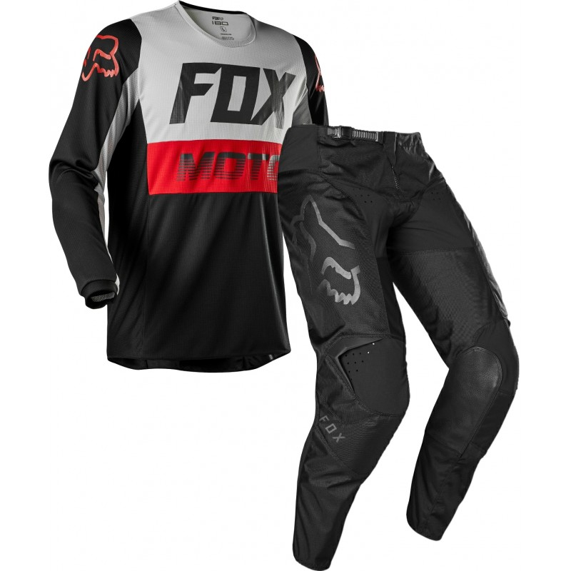 2020 Fox 180 Motocross Gear FYCE GREY BLACK