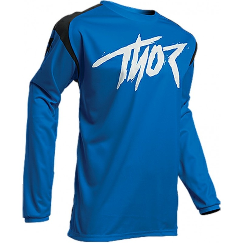 2020 Thor Sector Link Youth Kids Motocross Jersey BLACK BLUE