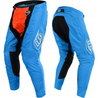 Troy Lee Designs SQUADRA Cyan Orange TLD SE Air Motocross Pants