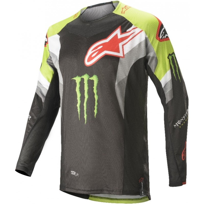 2020 Alpinestars Techstar Eli Tomac ET3 Monster Energy Motocross Jersey