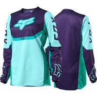 2021 Fox 180 Youth Kids Motocross Jersey VOKE AQUA XL ONLY