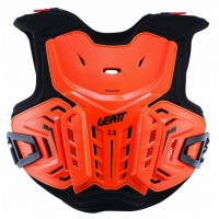 Leatt 2.5 Junior Chest Back Protector for Leatt Brace Orange