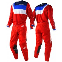Troy Lee Designs TLD GP AIR Prisma Motocross Gear Red