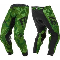 2020 Fly Racing Evolution Motocross Pants Green Black Camo