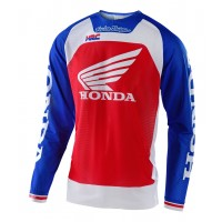 Troy Lee Designs BOLDOR TEAM HONDA TLD MX SE Pro Air Motocross Jersey Red Blue