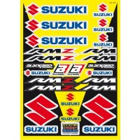 Suzuki Universal Generic Sticker Kit for Motocross Bikes
