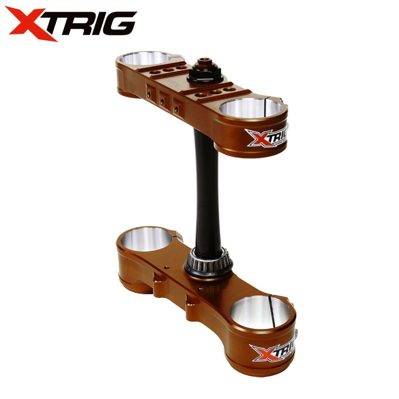 XTrig Triple Clamp Set for Motocross Bikes