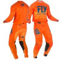 2019 Fly Racing Hydrogen Lite Motocross Gear Navy Orange 36 ONLY