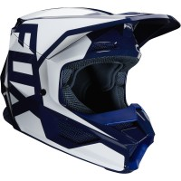 2020 Fox V1 PRIX Youth Kids Motocross Helmet NAVY