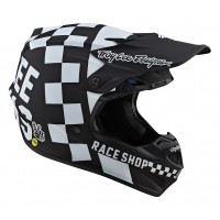 2020 Troy Lee Designs CHECKER SE4 MIPS POLY Motocross Helmet