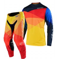 2020 Troy Lee Designs JET Youth Kids TLD GP Motocross Gear Yellow Orange