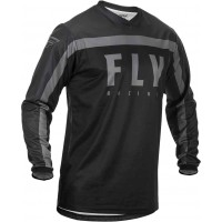 2020 Fly Racing F16 Motocross Jersey Black Grey SMALL ONLY
