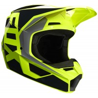 2020 Fox V1 PRIX Youth Kids Motocross Helmet LOVL YELLOW