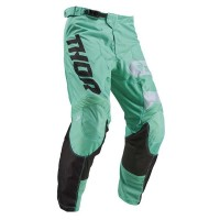 2019 Thor MX Pulse Savage Jaws Motocross Pants Mint Black