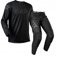 2021 Fox 180 REVN Motocross Gear BLACK BLACK