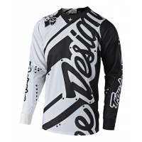 Troy Lee Designs Shadow TLD MX SE Motocross Jersey White Black