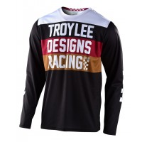 2020 Troy Lee Designs TLD GP CONTINENTAL Motocross Jersey Black
