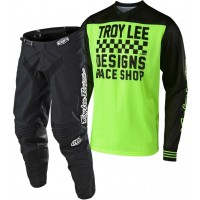 Troy Lee Designs TLD 18.1 GP AIR RACESHOP Motocross Gear Yellow Black