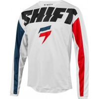 2019 Shift WHIT3 Label YORK Motocross Jersey WHITE
