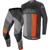 2019 Alpinestars Techstar Venom Anthracite Orange Motocross Gear 32 ONLY