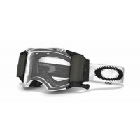 Oakley Airbrake Race Ready with BRO Roll Off Motocross Goggles Matte White Speed