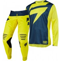2019 Shift 3LACK LABEL MAINLINE Motocross Gear YELLOW NAVY 28 ONLY