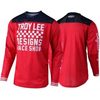 Troy Lee Designs RACESHOP TLD MX GP AIR 18.1 Motocross Jersey Red