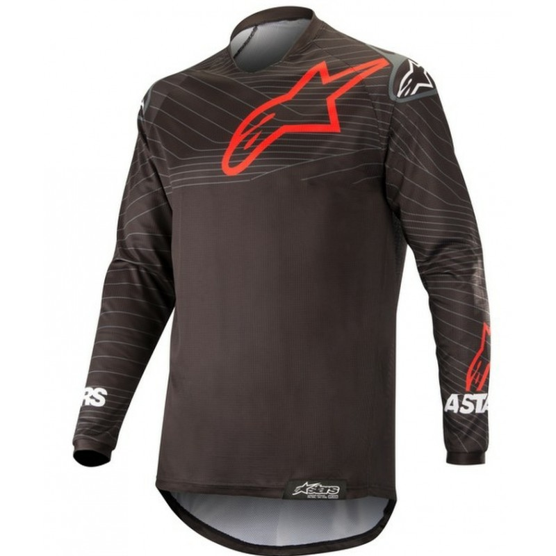 Alpinestars Venture R Enduro Jersey BLACK RED