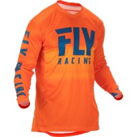 2019 Fly Racing Hydrogen Lite Motocross Jersey Navy Orange