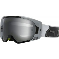 2020 Fox VUE X Motocross Goggles Light Grey with Double Glazes Clear Lens