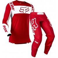 2021 Fox Flexair Motocross Gear MACH ONE FLAME RED