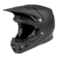 2021 Fly Racing Formula CC Motocross Helmet SOLID MATTE BLACK LARGE or XL ONLY