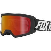 Fox Main 2.0 SPARK Motocross Goggles WYNT BLACK with Mirrored Lens