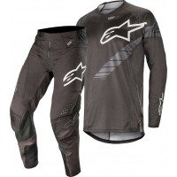2019 Alpinestars Techstar Graphite Anthracite Grey Motocross Gear 32 ONLY