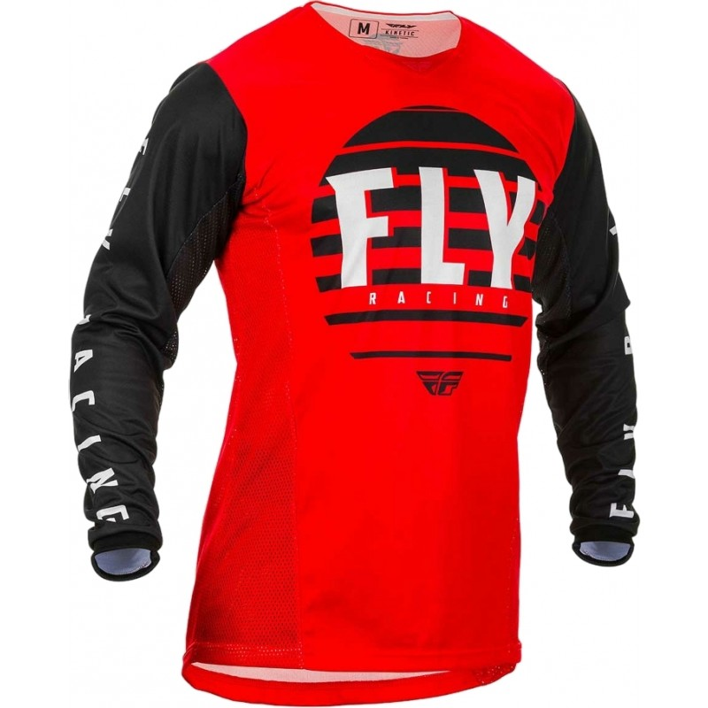 2020 Fly Racing Kinetic K220 Motocross Jersey Red Black White